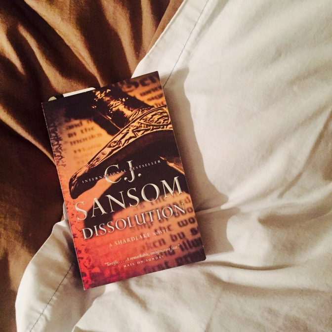 REVIEW: Dissolution by CJ Sansom (Matthew Shardlake #1)