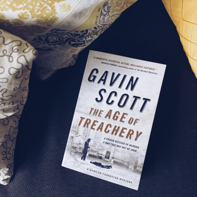 REVIEW: The Age of Treachery by Gavin Scott (Duncan Forrester #1)