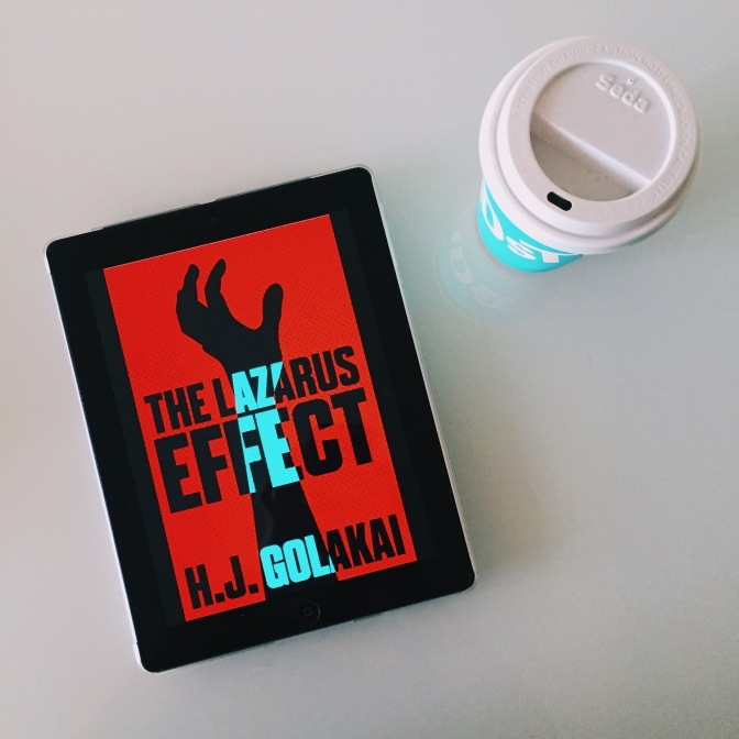 REVIEW: The Lazarus Effect by H.J. Golakai (Vee Johnson #1)