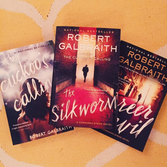 REVIEW: The Silkworm by Robert Galbraith (Cormoran Strike #2)
