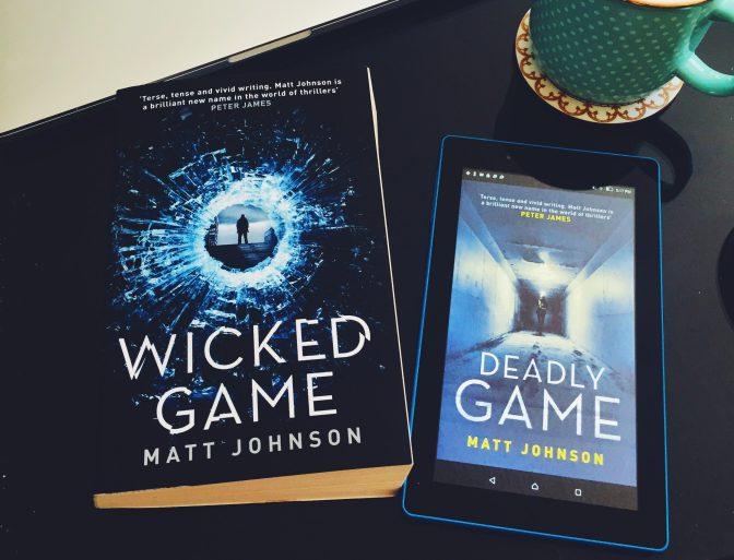 REVIEW: DEADLY GAME by Matt Johnson (Robert Finlay #2)