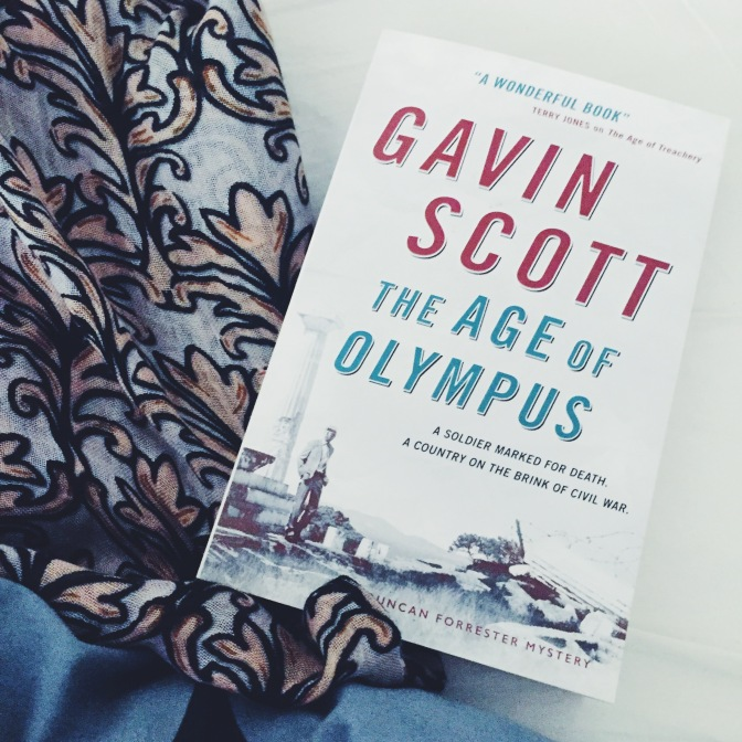 REVIEW: The Age of Olympus by Gavin Scott (Duncan Forrester #2)