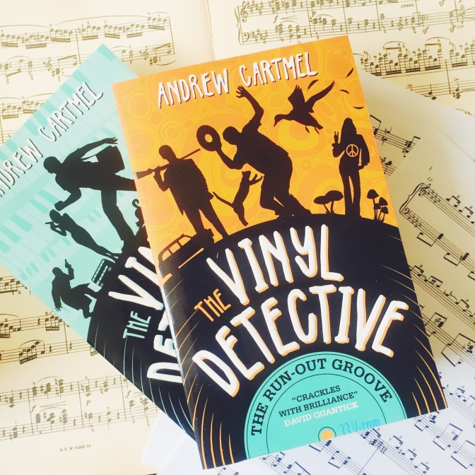 REVIEW: The Run-Out Groove by Andrew Cartmel (The Vinyl Detective #2)