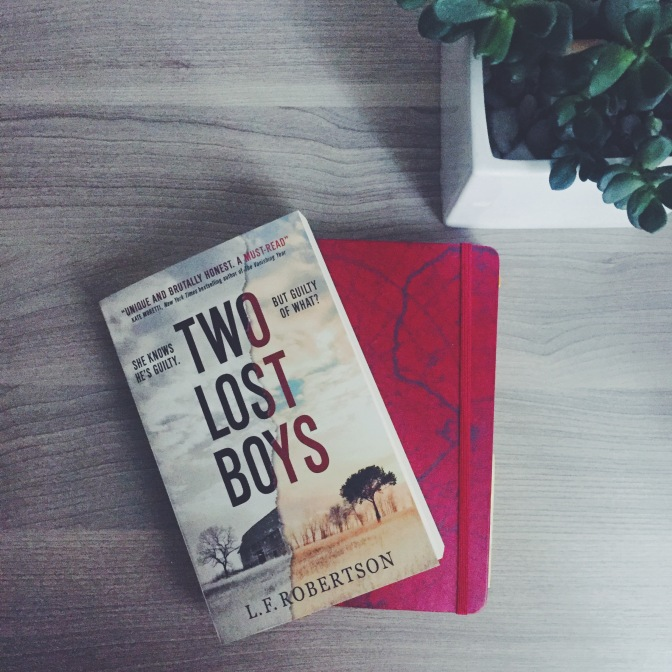 REVIEW: Two Lost Boys by LF Robertson