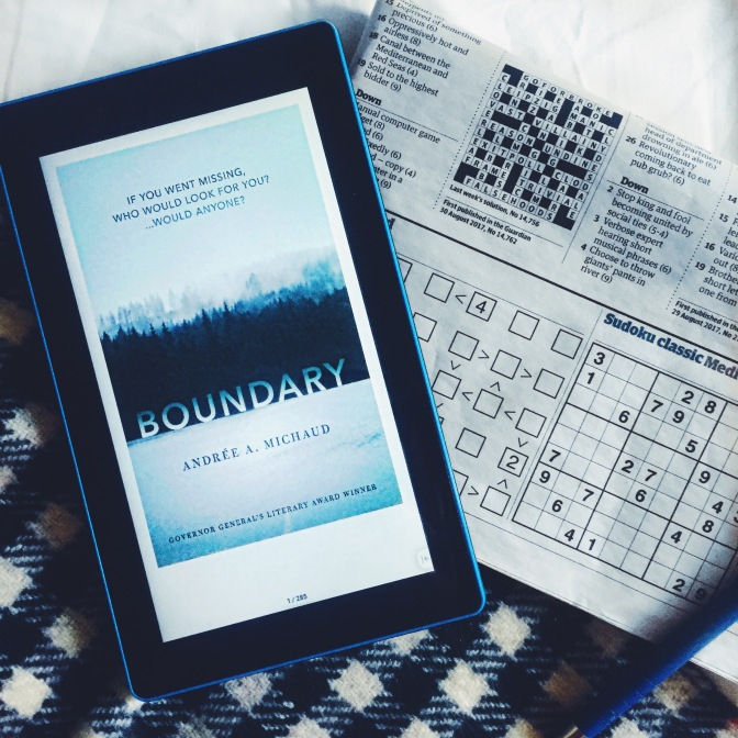 REVIEW: Boundary by Andrée A. Michaud
