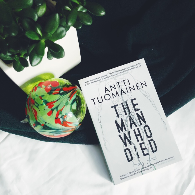REVIEW: The Man Who Died by Antti Tuomainen