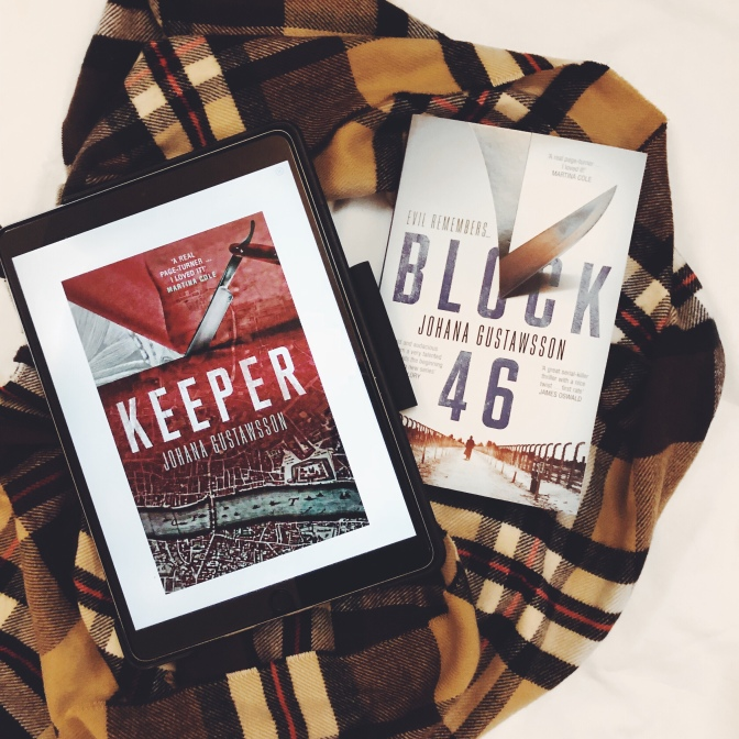 REVIEW: Keeper by Johana Gustawsson (Castells & Roy #2)