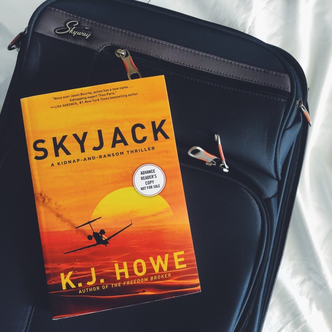 REVIEW: Skyjack by KJ Howe (Thea Paris #2)