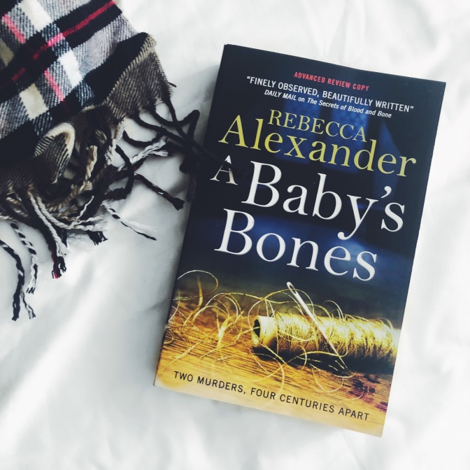 REVIEW: A Baby's Bones by Rebecca Alexander