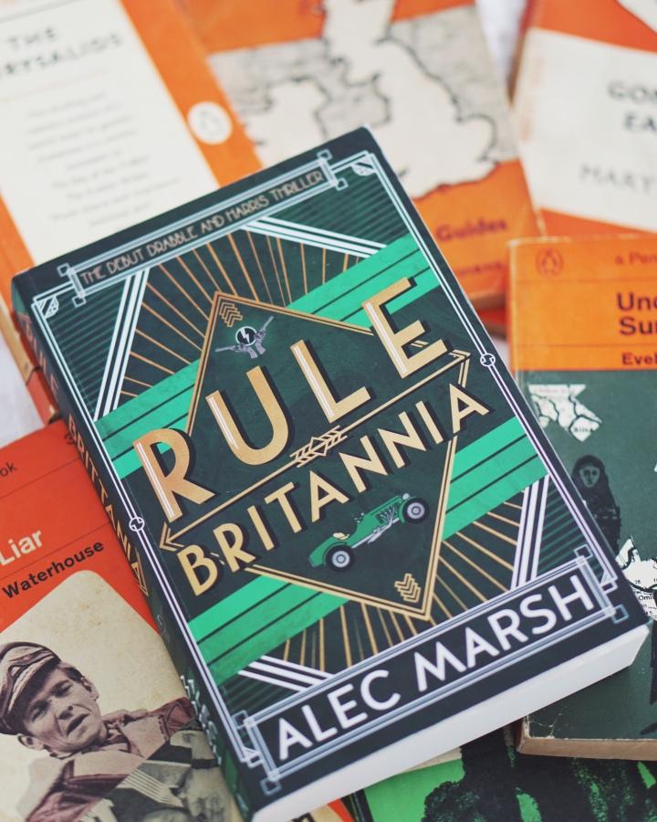 REVIEW: Rule Britannia by Alec Marsh (Drabble & Harris#1)