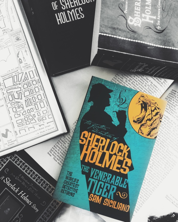 REVIEW: The Venerable Tiger by Sam Siciliano (Further Adventures of Sherlock Holmes #17)